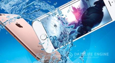 Спасаем упавший в воду iPhone 7