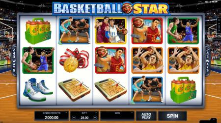 Basketball – один из лучших слотов казино Вулкан Вегас