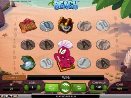 Игровой слот Beach – отдых в тропиках