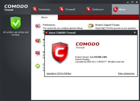 Comodo Firewall 2013 6.2.285401.2860
