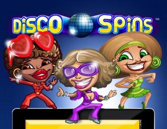 Разработчики посвятили игровой автомат Disco Spins популярному стилю музыки