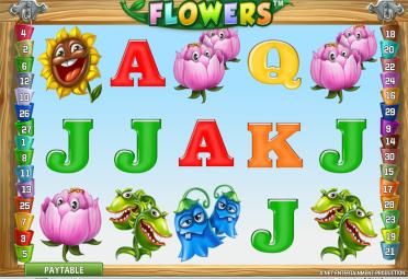 В Сети стал доступен уникальный игровой автомат Flowers