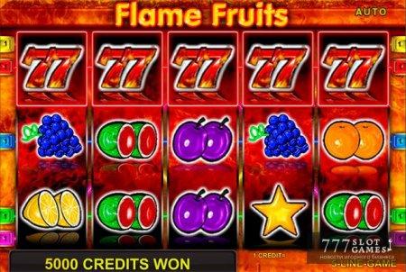 Правила игры в классическом автомате Flame Fruits