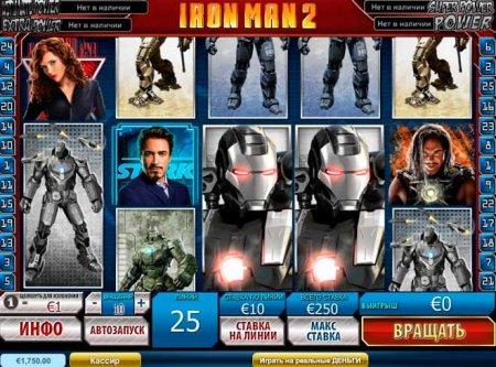 Видео-слот Iron Man 2 – продолжение популярной серии