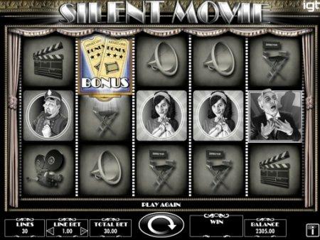 Silent Movie –уникальный слот казино Вулкан Делюкс