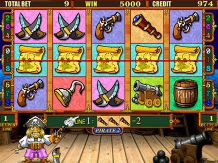 Как получить выигрыш в игровом автомате Pirate 2?