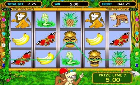 Главные особенности игрового автомата Crazy Monkey