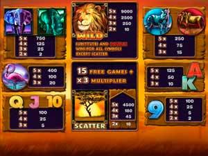 Как получить бесплатные вращения в игровом автомате Safari Heat
