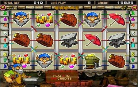 Описание бонусных игр в игровом автомате Gnome