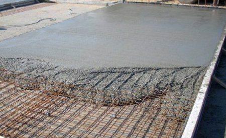Армирование бетонных полов: особенности технологии