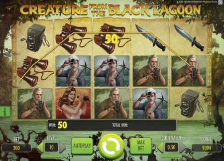 Особенности настройки раундов в игровом автомате Creature From The Black Lagoon