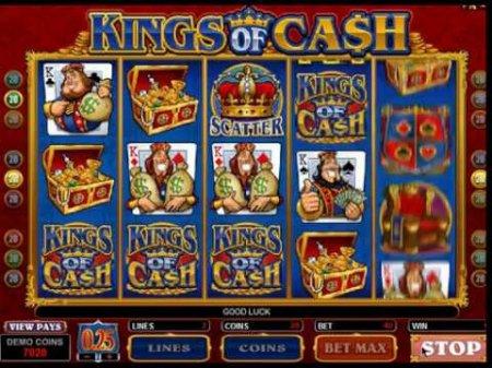 Небольшая инструкция по игровому автомату Kings of Cash