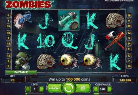 Основные функции специальных символов в автомате Zombies