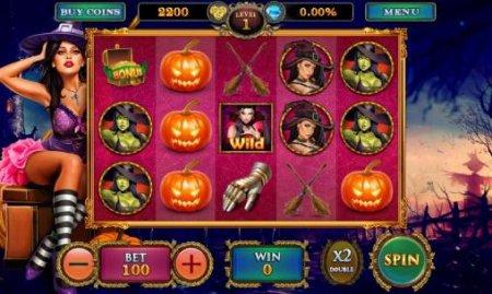 Как делать ставки в игровом аппарате Lucky Witch?