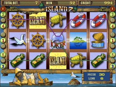 Самые прибыльные символы в игровом автомате Island 2