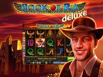 Основные символы в игровом аппарате Book of Ra Deluxe