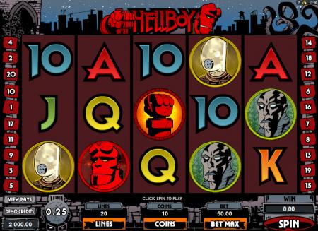 Основные режимы игры в автомате Hellboy
