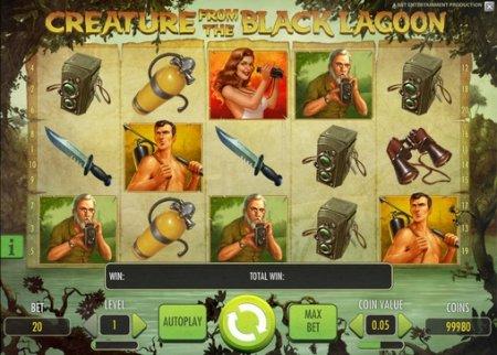 Основные элементы игрового процесса в автомате Creature from the Black Lagoon