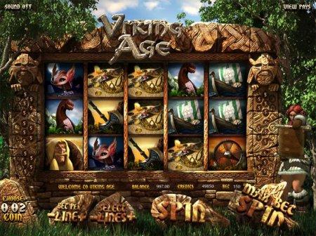 Символы и коэффициенты видеослота Viking Age