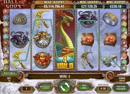 «Служебные» символы и их назначение в игре Hall of Gods