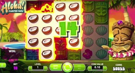 Какие символы приносят большие выигрыши в игре Aloha Cluster Pays