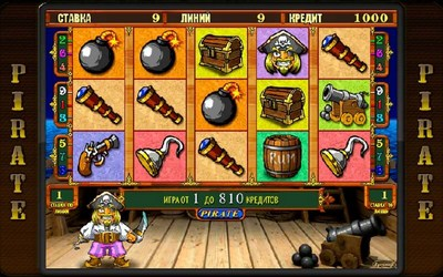Главные особенности игрового аппарата Ghost Pirates