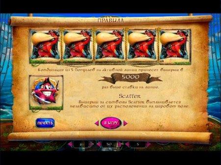 Параметры и символы игрового автомата Lucky Pirates