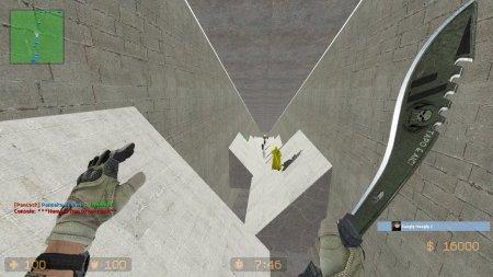 Мод Surf в Counter-Strike
