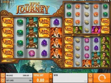 Онлайн слоты: основные бонусы автомата The Epic Journey