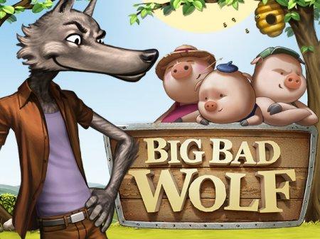 Основные элементы оформления аппарата Big Bad Wolf на сайте Вулкан Мега