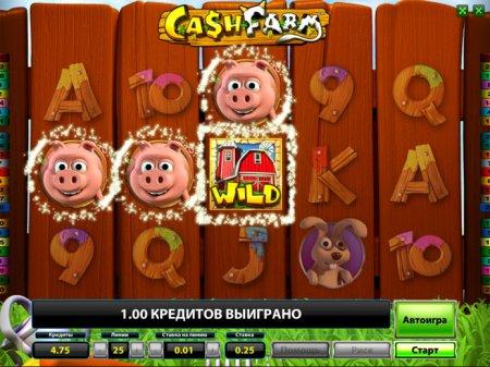 Клуб суперслотс: как играть на автомате Cash Farm