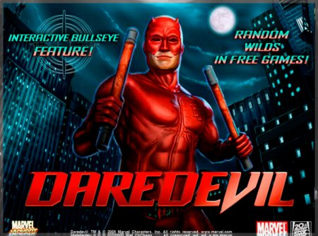 Описание демонстрационного режима игры Daredevil из казино Колумбус