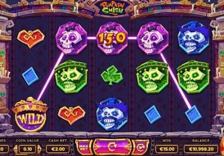 Лучшие черты игрового автомата Pumpkin Smash из казино Максбет